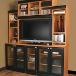 Custom entertainment center unit