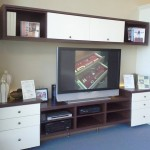 Custom media centers at MSP Jacksonville showroom