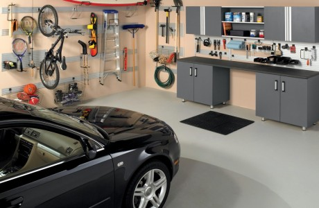 Custom garage organization more space place Jacksonville