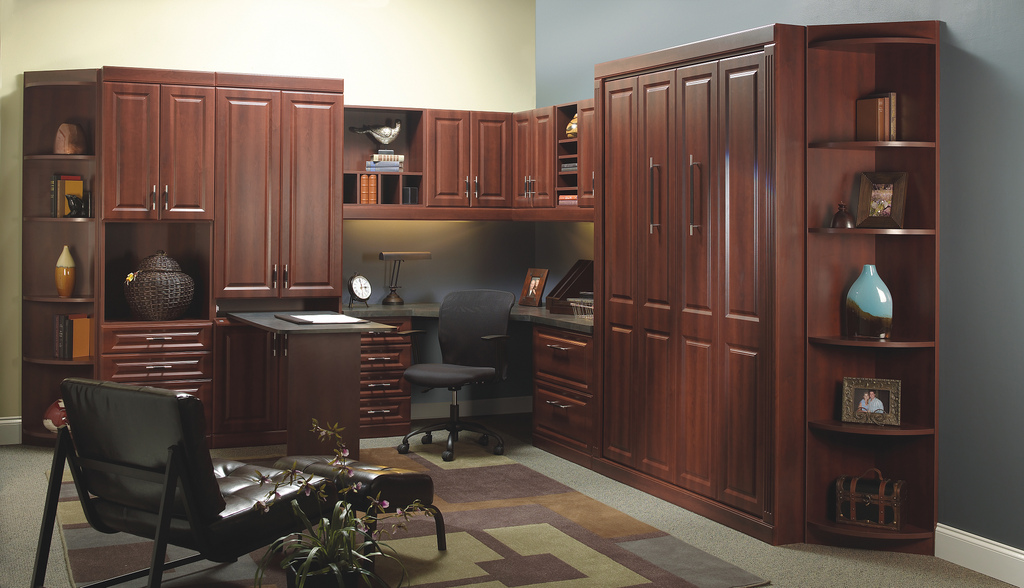 home office cabinetry design. Home Offices in Jacksonville  Get Custom Office Storage from More