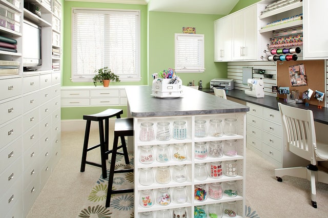 Custom Craft Room Organization Jacksonville Florida
