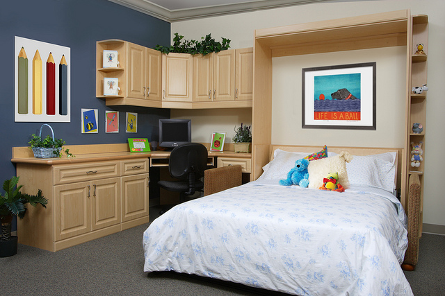 Multi Functional Rooms With A Murphy Bed More Space Place