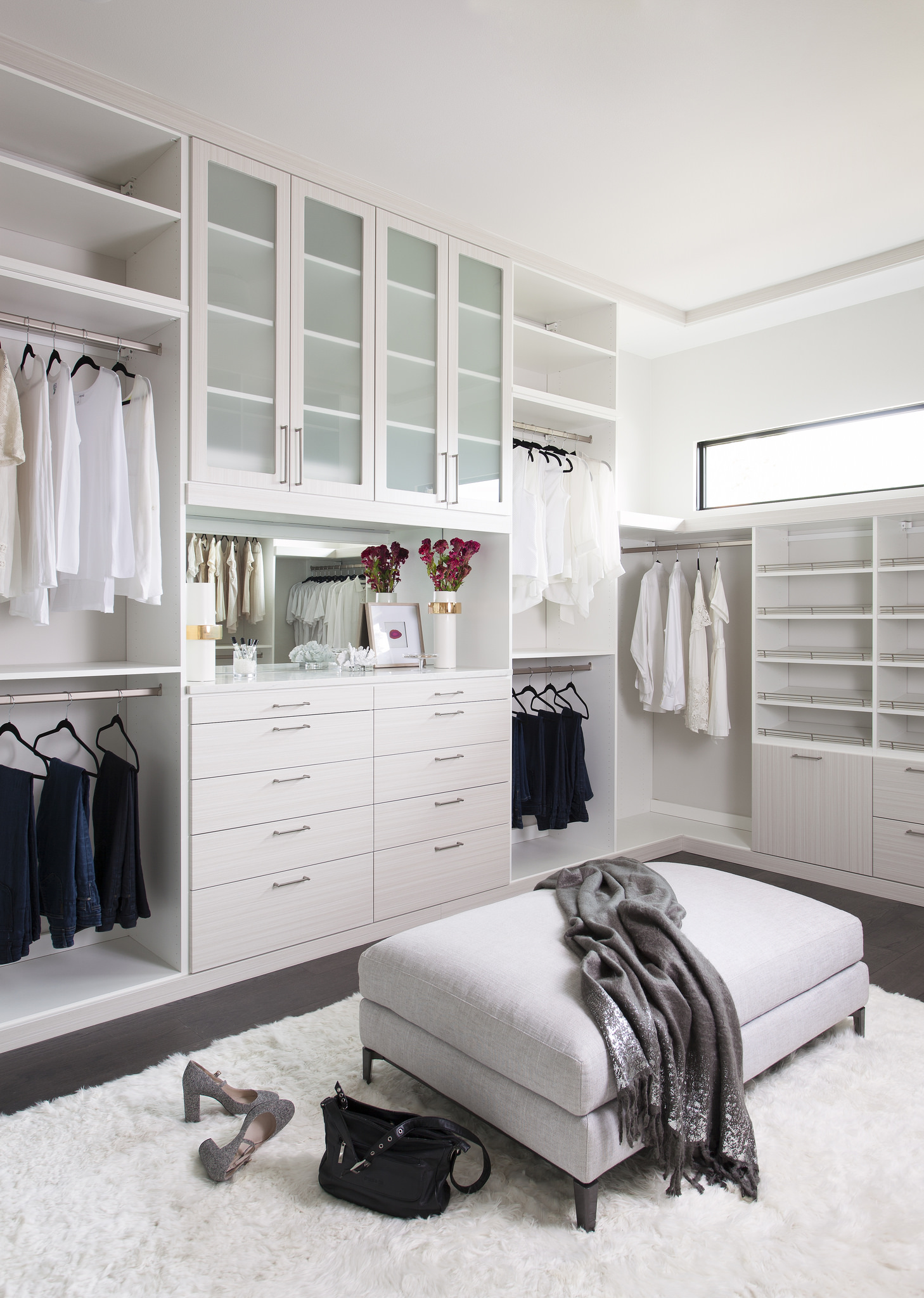 bed raised with closet loft underneath images