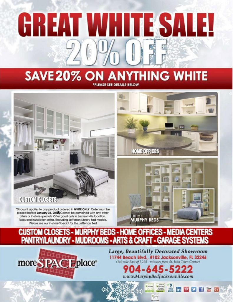 January 2018 White Sale Flyer