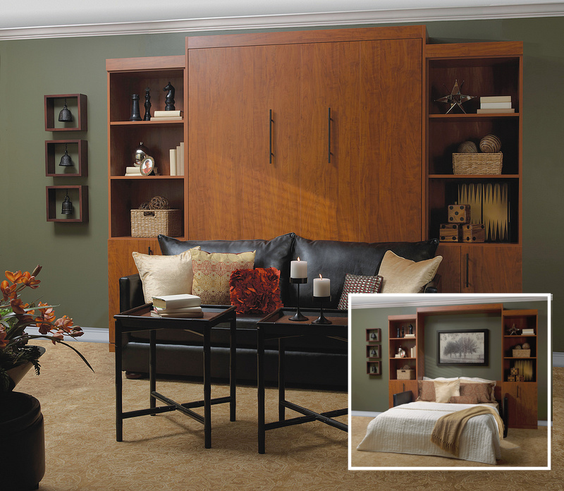 Chesterfield Murphy bed More Space Place