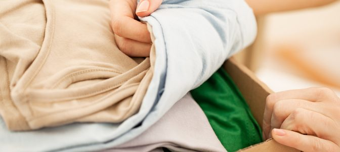 getting rid of unwanted clothes in your Jacksonville closet
