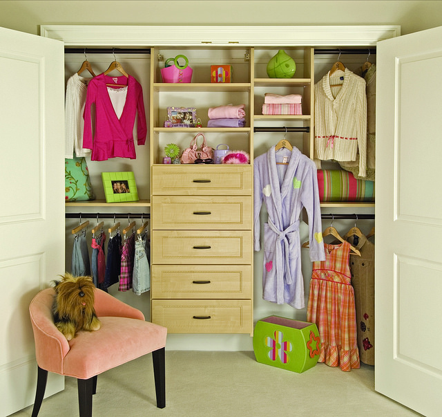 Custom Kids Reach In Closet
