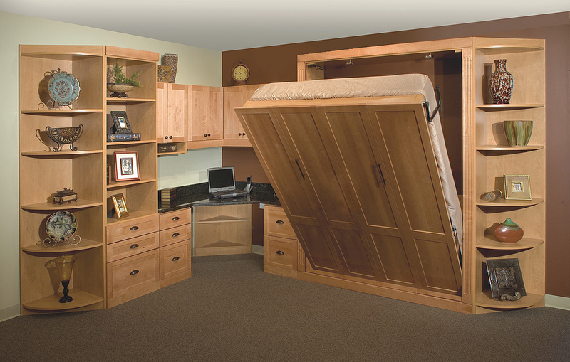 murphy bed home office more space place jacksonville