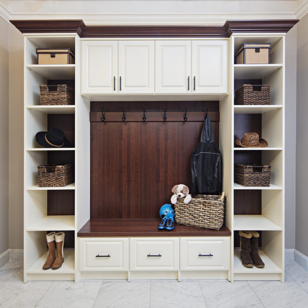 mudroom storage stress free entertaining