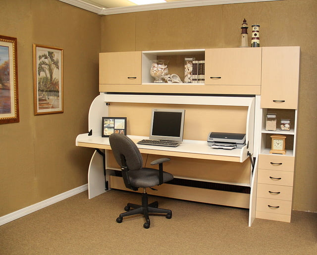 Custom Murphy Desk Bed Jacksonville