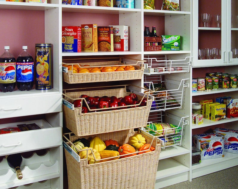 Custom Pantry Storage Solutions - More Space Place Jacksonville